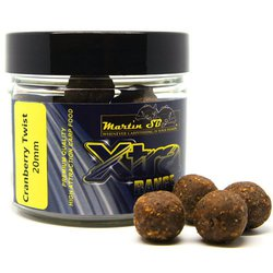 Бойлы тонущие Martin SB XTRA Boilies Cranberry Twist 20mm/200g