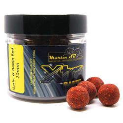 Бойлы тонущие Martin SB XTRA Boilies Garlic & Robin Red 20mm/200g