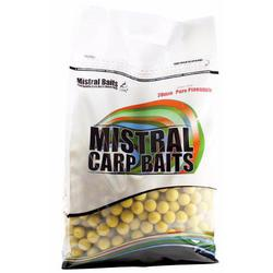 Бойлы тонущие Mistral Baits Pure Pineapple 20mm/5kg