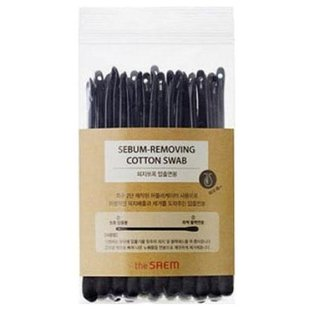 Ватные палочки The Saem Sebum-Removing Cotton Swab