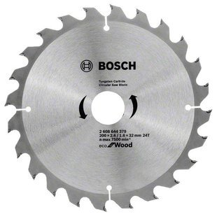 Пильный диск BOSCH Eco Wood 2608644379 200х32 мм