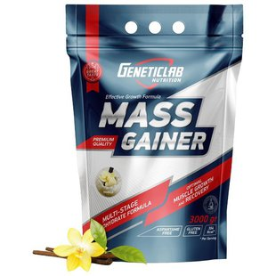 Гейнер Geneticlab Nutrition Mass Gainer (3000 г)