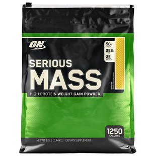 Гейнер Optimum Nutrition Serious Mass (5.44 кг)