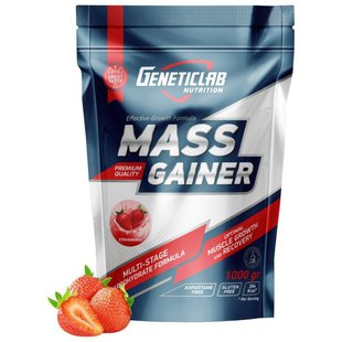 Гейнер Geneticlab Nutrition Mass Gainer (1000 г)