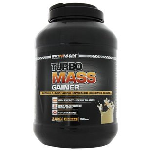 Гейнер IRONMAN Turbo Mass Gainer (2.8 кг) в банке