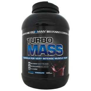 Гейнер IRONMAN Turbo Mass (5 кг) в банке