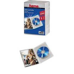 Коробка Hama H-83895 Jewel Case для 1х DVD 5 шт (прозрачный)