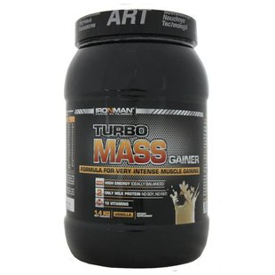 Гейнер IRONMAN Turbo Mass Gainer (1.4 кг) в банке