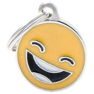 Адресник на ошейник My Family Colors Charms Смайлик Smile-