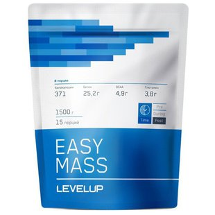 Гейнер LevelUp EASY MASS (1500 г)