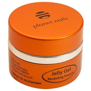 Краска planet nails Modeling French Jelly Gel, 30 г