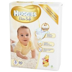 Huggies Elite Soft 3 (5-9 кг) 80 шт.