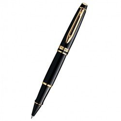 Ручка роллер Waterman Expert 3 Black Laque GT Fblack (S0951680)