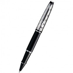 Ручка роллер Waterman Expert 3 DeLuxe Black CT Fblack (S0952340)
