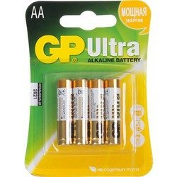 Батарейки AA (GP Ultra 15AU-CR4) (4 шт.)