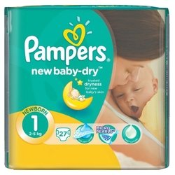 Pampers New Baby Dry 1 (2-5 кг) 27 шт.